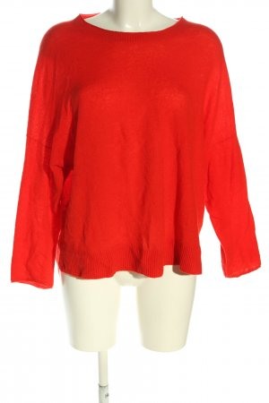 Marc Cain Strickpullover rot Casual-Look