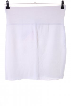Marc Cain Knitted Skirt white casual look