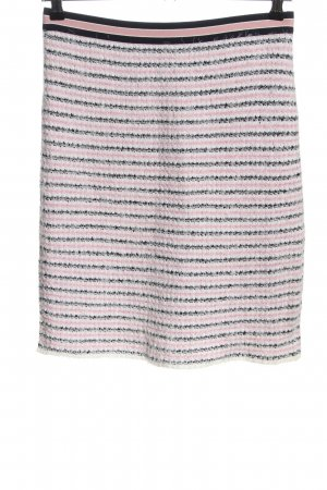 Marc Cain Knitted Skirt striped pattern casual look
