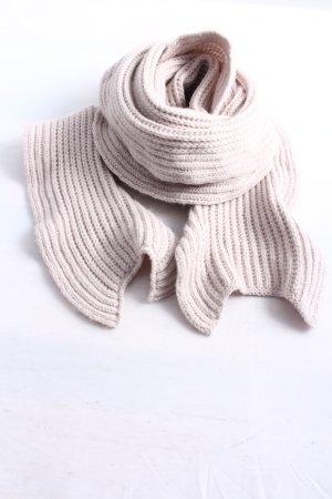 Marc Cain Gebreide sjaal roze kabel steek casual uitstraling