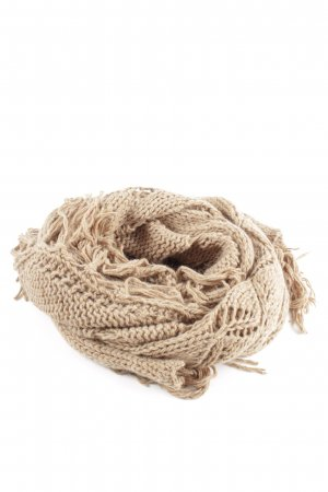 Marc Cain Knitted Scarf nude casual look