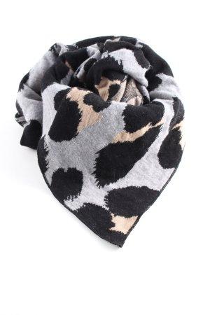 Marc Cain Sciarpa lavorata a maglia motivo animale stile casual