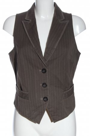 Marc Cain Waistcoat striped pattern casual look