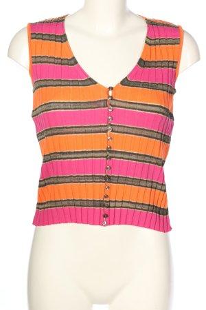 Marc Cain Gilet tricoté motif rayé style décontracté