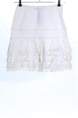 Marc Cain Broomstick Skirt white elegant