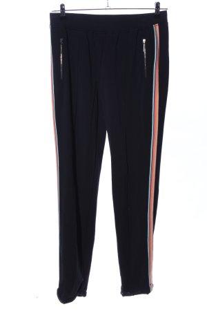 Marc Cain Pantalon de jogging motif rayé style décontracté