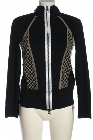 Marc Cain Sweat Jacket black-natural white casual look