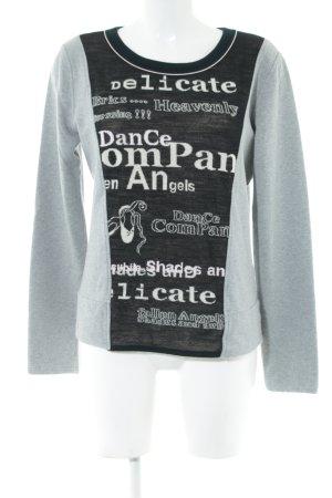 Marc Cain Sweatshirt Schriftzug gedruckt Casual-Look