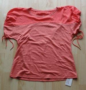 Marc Cain T-shirt rosso chiaro-salmone