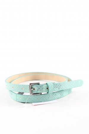Marc Cain Waist Belt turquoise animal pattern casual look