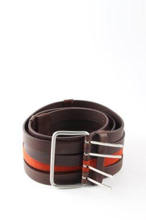 Marc Cain Cintura vita marrone-arancione chiaro stile casual