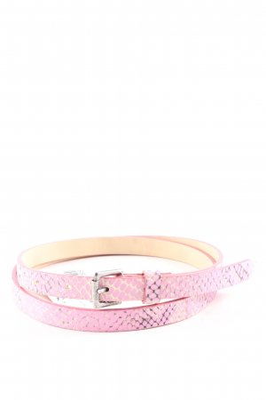 Marc Cain Tailleriem roze casual uitstraling