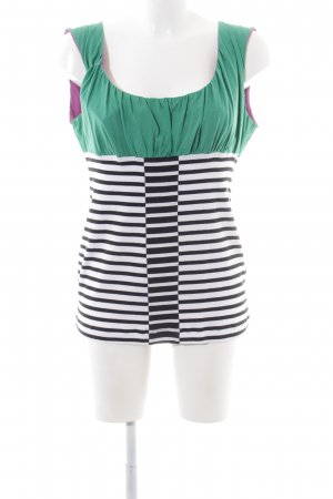 Marc Cain Tanktop Streifenmuster Casual-Look