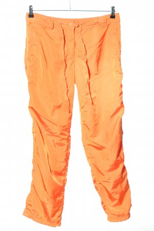 Marc Cain Thermal Trousers light orange casual look