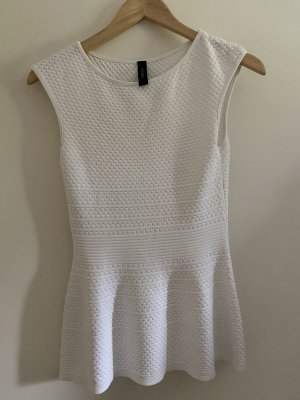 Marc Cain Top peplum blanco