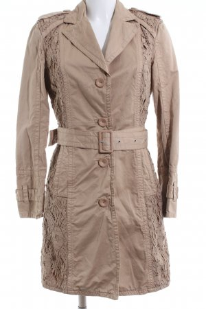 Marc Cain Trenchcoat braun Business-Look
