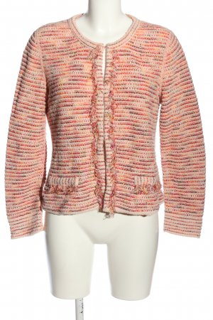Marc Cain Blazer in tweed rosa-rosso stile casual
