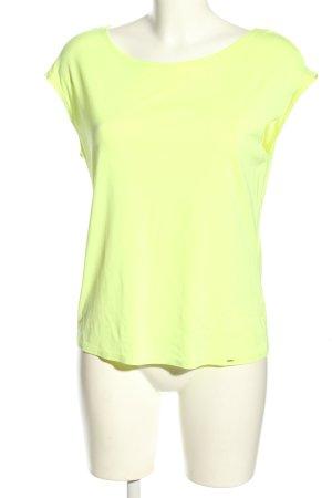 Marc Cain T-shirt bladożółty W stylu casual