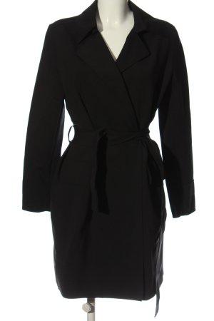 Marc Cain Between-Seasons-Coat black business style