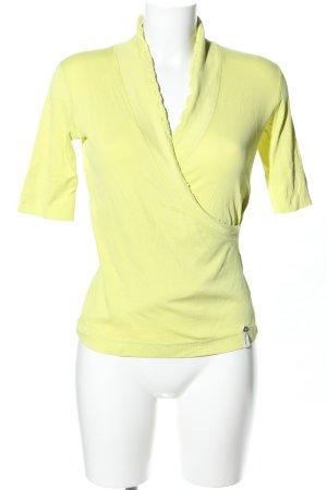 Marc Cain V-Neck Shirt primrose casual look