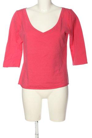 Marc Cain Koszulka z dekoltem w kształcie litery V różowy W stylu casual