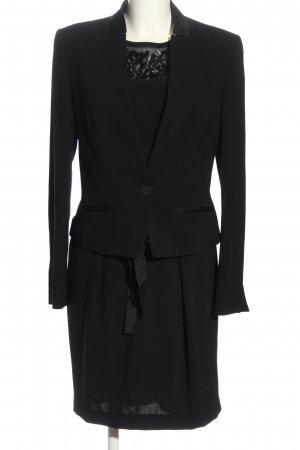 Marc Cain Woven Twin Set black business style
