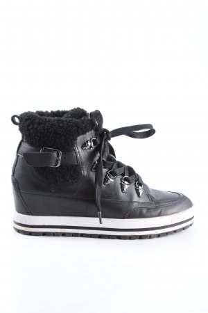 Marc Cain Wedge Sneaker black casual look
