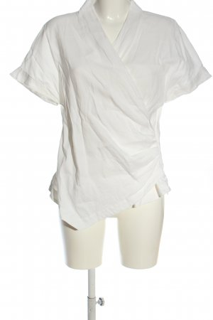 Marc Cain Wraparound Blouse white casual look
