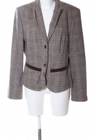 Marc Cain Woll-Blazer Karomuster Business-Look