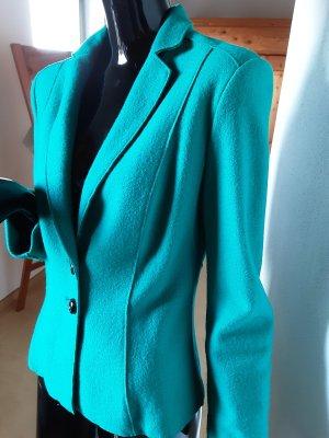 Marc Cain Blazer en laine turquoise laine vierge