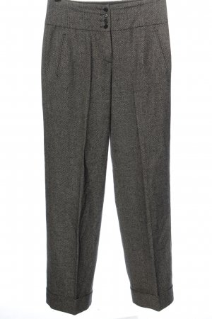 Marc Cain Woolen Trousers light grey flecked business style