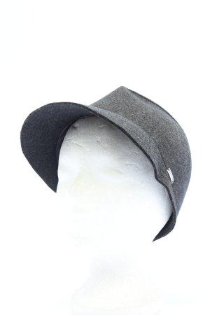 Marc Cain Wollen hoed lichtgrijs casual uitstraling