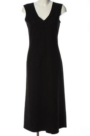 Marc Cain Wełniana sukienka czarny W stylu casual