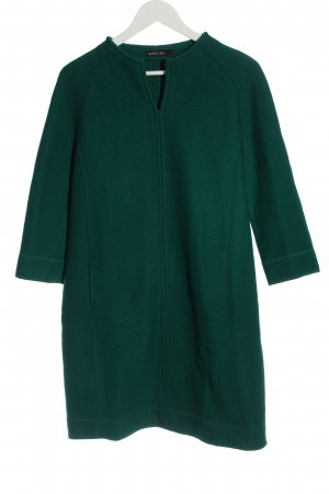 Marc Cain Woolen Dress green casual look