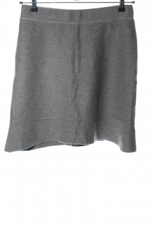 Marc Cain Wool Skirt light grey casual look
