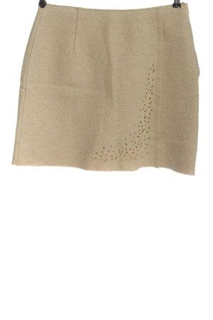 Marc Cain Wool Skirt cream casual look