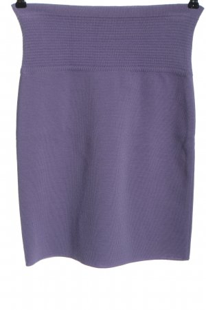 Marc Cain Wool Skirt lilac casual look