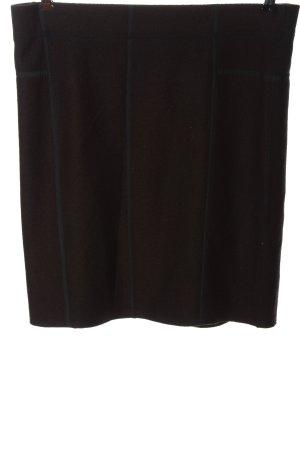 Marc Cain Wollen rok bruin zakelijke stijl