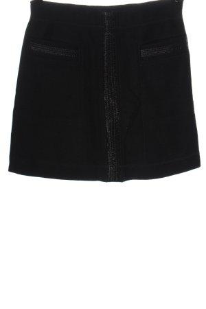 Marc Cain Wollen rok zwart casual uitstraling