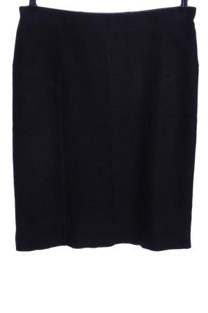 Marc Cain Wollen rok zwart zakelijke stijl