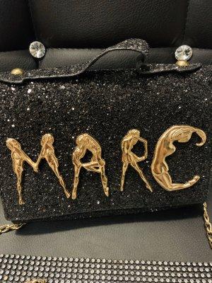Marc clutch schwarz Gold