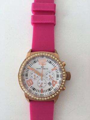 Reloj analógico rosa