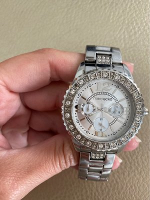 Marc Ecko Watch With Metal Strap silver-colored