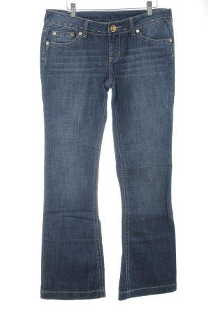 Marc Ecko Boot Cut Jeans blau Casual-Look