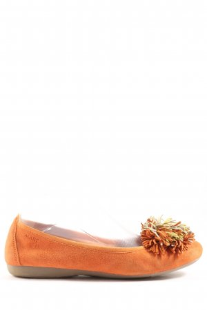 MARC Foldable Ballet Flats light orange casual look