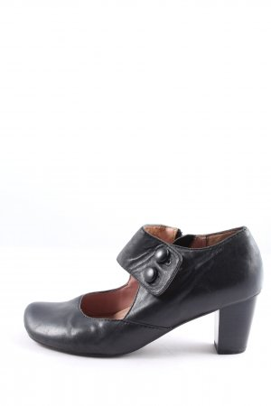 MARC Hochfront-Pumps schwarz Casual-Look