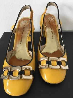 Marc Jacobs Strapped pumps yellow leather