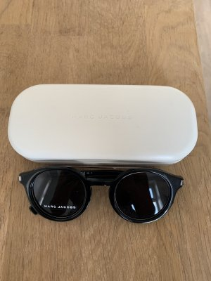 Marc Jacobs Owalne okulary przeciwsłoneczne czarny
