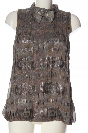 Marc Jacobs Mouwloze blouse abstract patroon casual uitstraling