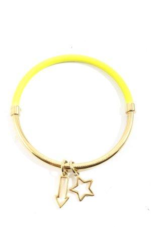 Marc Jacobs Armspange goldfarben-blassgelb Casual-Look